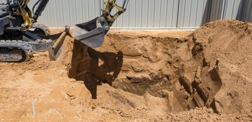 Le nivellement du sol, une étape des travaux de terrassement